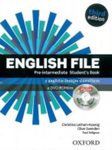 English File Pre-Intermediate Student´s Book + iTutor DVD-ROM Czech Edition