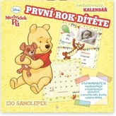 Medvídek Pú První rok dítěte - nástěnný kalendář