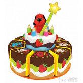 Narozeninový dort zpívající a svítící