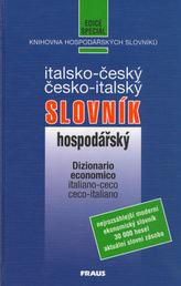 Italsko - český, česko - italský hospodářský slovník