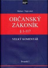 Občanský zákoník Velký komentář § 1-117