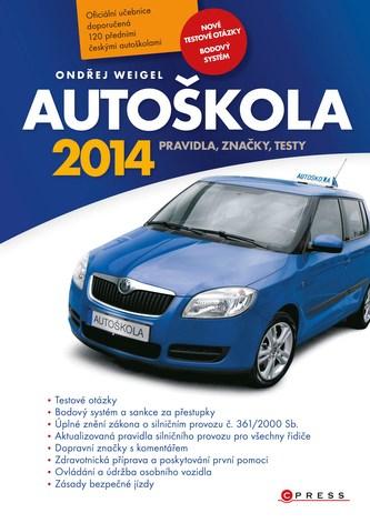 Autoškola 2014 - Náhled učebnice