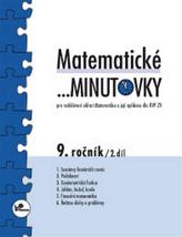 Matematické minutovky 9. ročník / 2. díl