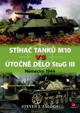 Stíhač tanků M10 vs útočné dělo Stug III - Německo 1944