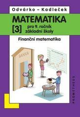 Matematika pro 9. ročník ZŠ, 3. díl – Finanční matematika