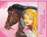 Princess TOP Horses coloring book
