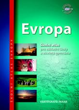 Evropa školní atlas