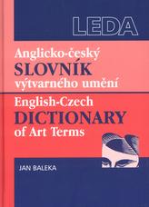 Anglicko - český slovník výtvarného umění