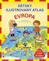 Dětský ilustrovaný atlas - Evropa