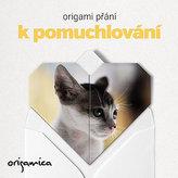 Origami přání - Miluji kočky (kotě)