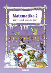 Matematika 1/2 - prac. učebnice, pro 1.r. ZŠ