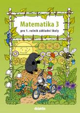 Matematika 1/3 - prac. učebnice, pro 1.r. ZŠ