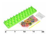 Set – Stav na gumičkování, gumičky 200ks + háček