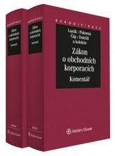 Zákon o obchodních korporacích I.+II. díl :Komentář/komplet