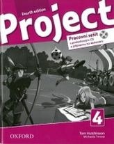 Project Fourth Edition 4 Pracovní sešit s poslechovým CD a přípravou na testování
