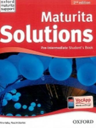 Maturita Solutions: Pre-Intermediate (Student's Book) - Náhled učebnice