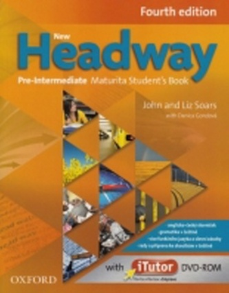 NEW HEADWAY FOURTH EDITION PRE-INTERMEDIATE MATURITA STUDENT´S BOOK + iTUTOR DVD-ROM - Náhled učebnice