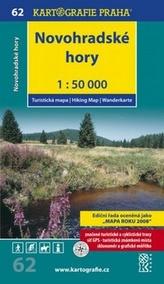 Novohradské hory 1:50 000