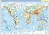 Svět Fyzická mapa 1:22 000 000