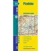 Plzeňsko 1:100 000