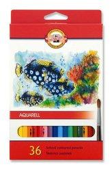 souprava pastelek akvarelovych 36 ryby