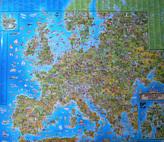 Dětská mapa Evropy