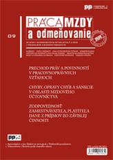 Práca, mzdy a odmeňovanie 9/2013