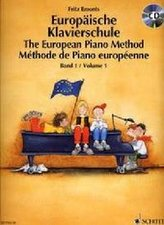 Europäische Klavierschule/The European Piano Method + CD