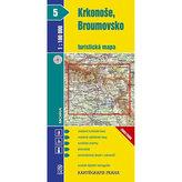 Krkonoše, Broumovsko 1:100 000