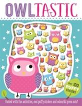 Owltastic Puffy Sticker Book