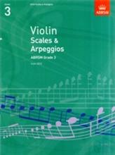 Violin Scales & Arpeggios, ABRSM Grade 3