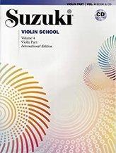 SUZUKI VIOLIN SCHOOL VIOLIN PART CD VOLU