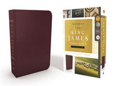 KJV, The King James Study Bible, Bonded Leather, Burgundy, Full-Color Edition