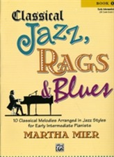 CLASSICAL JAZZ RAGS BLUESBOOK 1