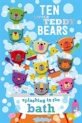 Ten Little Teddy Bears Splashing in the Bath