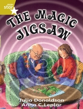 Rigby Star Guided 2 Gold Level: The Magic Jigsaw Pupil Book (single)