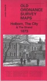 Holborn, the City & the Strand 1873