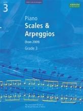 Piano Scales & Arpeggios, Grade 3