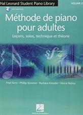 MTHODE DE PIANO POUR ADULTES VOL 2