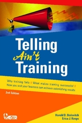 Telling Ain't Training