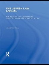 The Jewish Law Annual Volume 18
