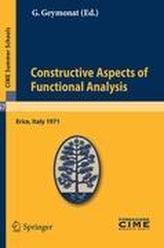 Constructive Aspects of Functional Analysis