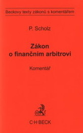 Zákon o finančním arbitrovi. Komentář