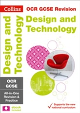 OCR GCSE 9-1 Design & Technology All-in-One Revision and Practice