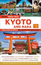 Tuttle Kyoto and Nara Guide + Map