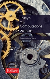 Tolley's Tax Computations 2015-16