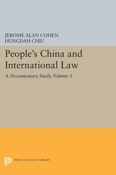 People's China and International Law, Volume 1