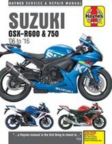 Suzuki GSX-R600 & 750 Update (06 - 16)