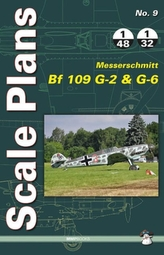 Scale Plans Messerschmitt Bf 109 G-2 and G-6
