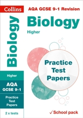 AQA GCSE 9-1 Biology Higher Practice Test Papers